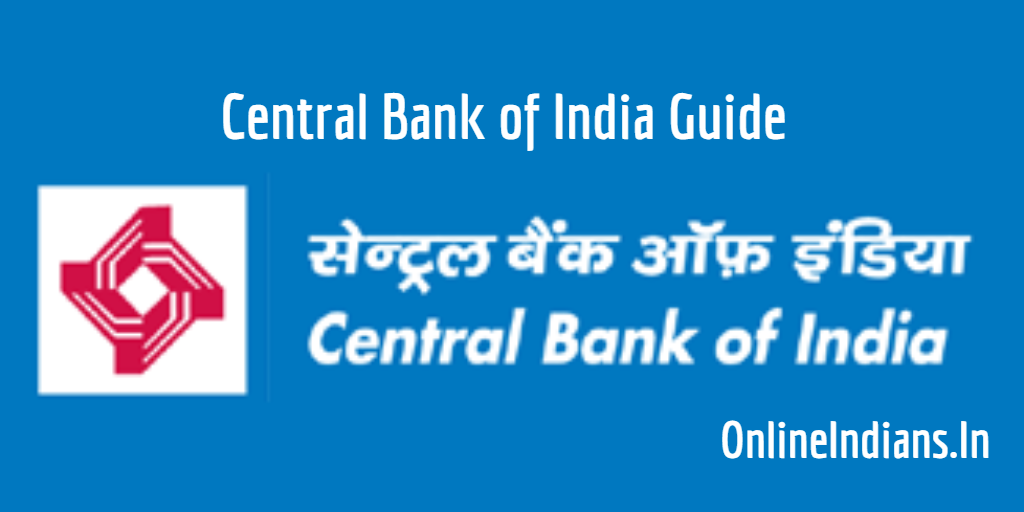 Activate Central Bank of India ATM Card